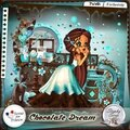 Chocolate dream, le nouveau kit de stephy scrap