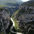 Gorges du Verdon, route des crêtes, le Fayet 1 (83)