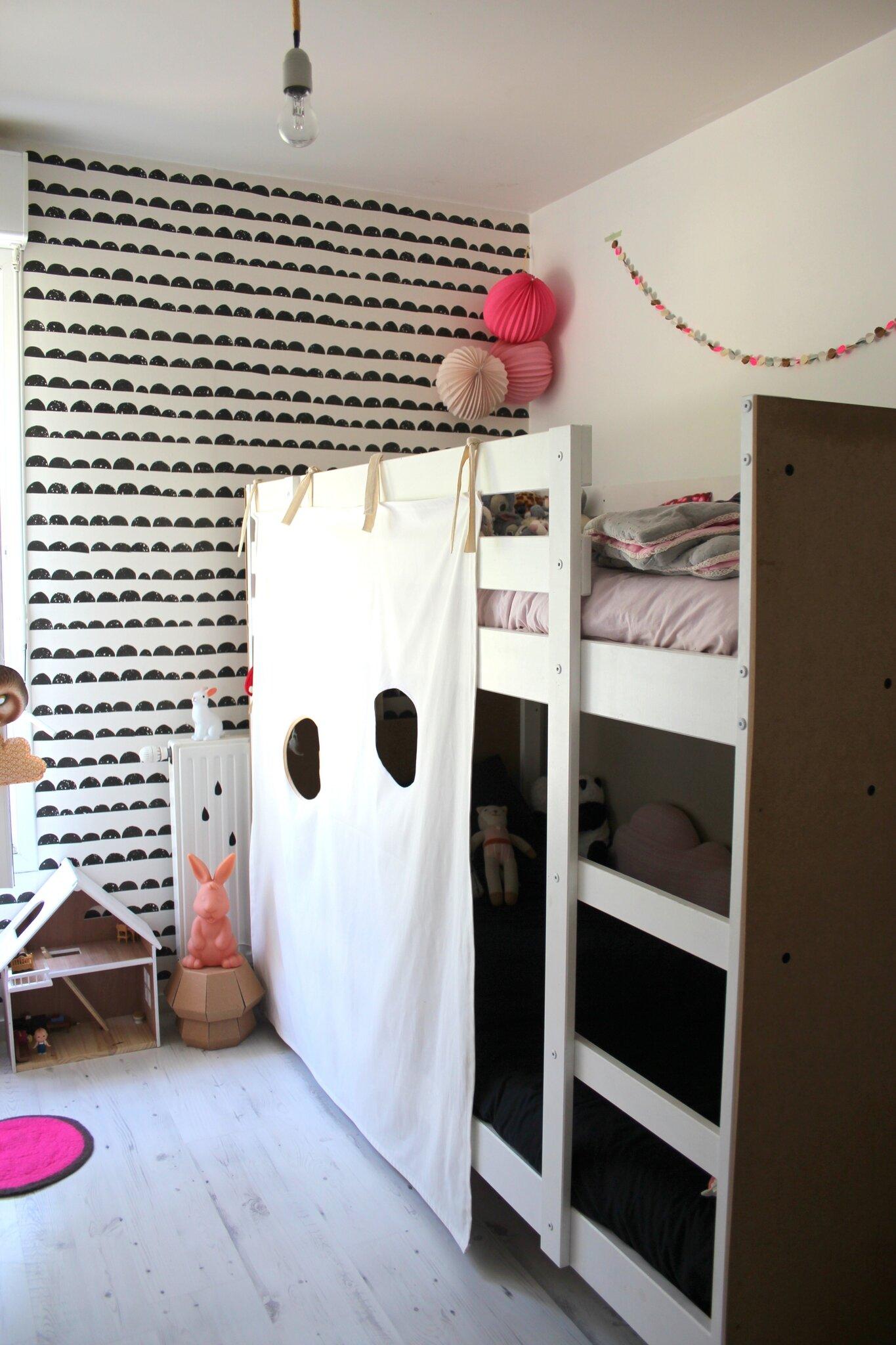 Cabane En Carton Diy diy: la cabane pour lit superposé - emilie sans chichi