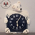 Horloge ours polaire