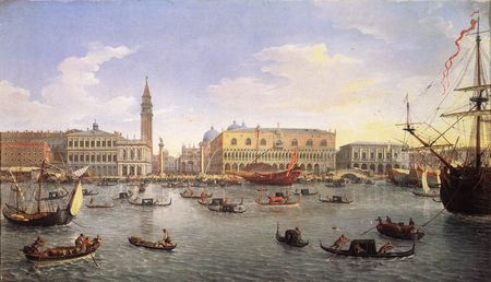 Van_Wittell_Gaspar_Adrianns_The_Molo_Seen_from_the_Bacino_di_San_Marco_1697