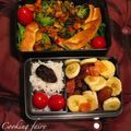 Tarte aux légumes et graines de sésame noir