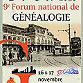 Forum national de généalogie