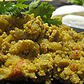 Mirza ghassemi, omelette à l'aubergine