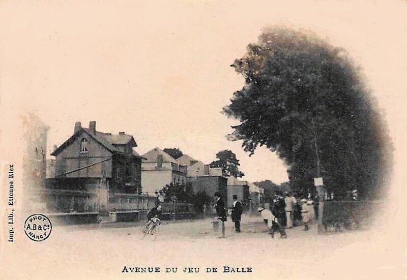 AVESNES - Course cycliste (1902)