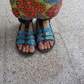 Sandales décopatchées