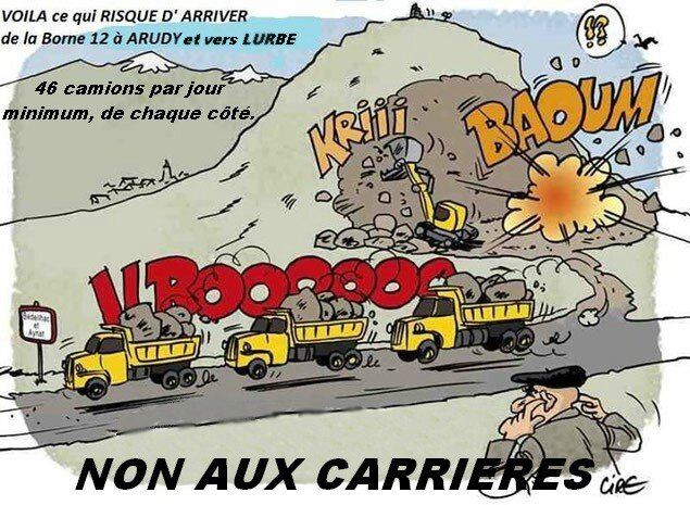 Camions-carrièreNON
