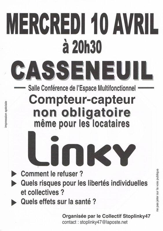 Conférence Casseneuil