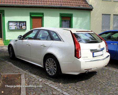 Cadillac CTS 4 break (9ème Classic Gala de Schwetzingen 2011) 02