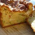 Cake à la courgette et au chèvre