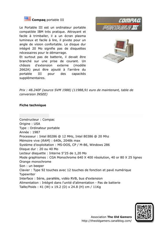 Compaq portable III -1