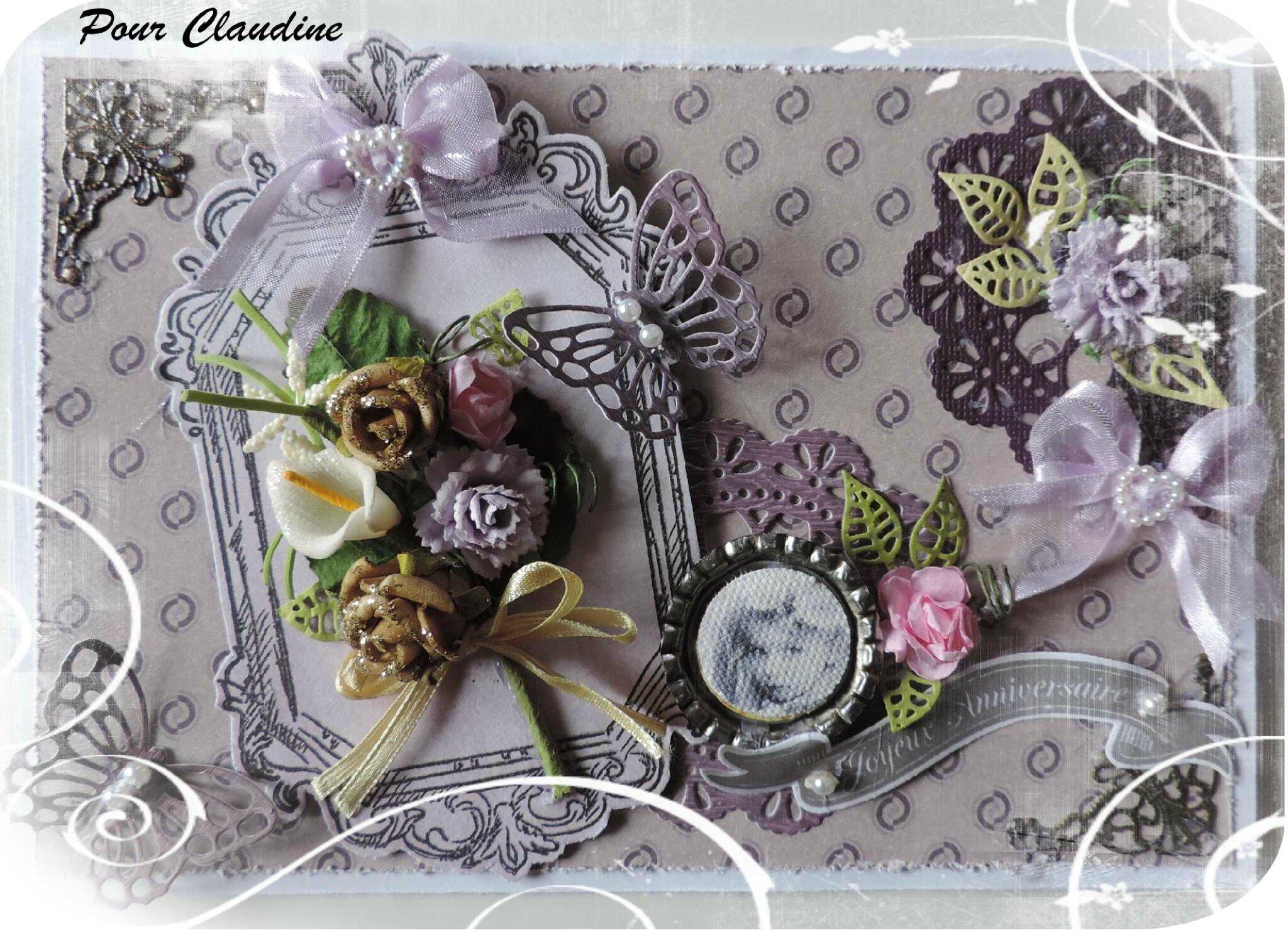 Pour l'Anni de Claudine & ses Créas * Mai 2016