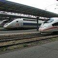 TGV Réseau, TGV POS & ICE 3 à Paris Est
