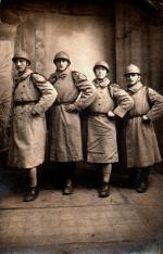 Dotzheim, Wiesbaden, décembre 1922 hommes du 243e RAC, Vandergheynst, Duplessis, Prieux