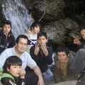 el tio Beto con su equipo de futuros scouts en la reserva de los Cipreses