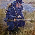 Desvarreux, un chasseur à pied
