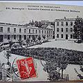 Besançon - Nouvelle caserne de l'Intendance militaire - datée 1914