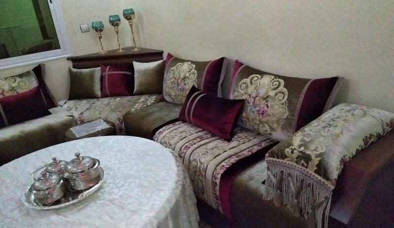Tlamet Mobra pour salon marocain 2020