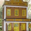 Hotel old west à etage