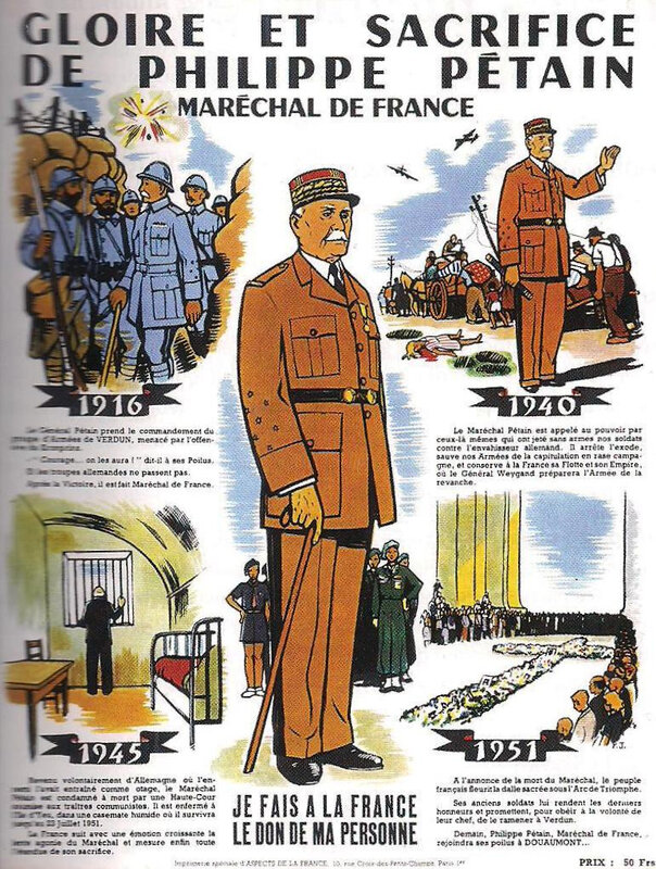 brochure mémoire pétainite - réhabilitation Pétain