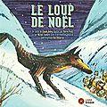 Le loup de noël - livre + cd