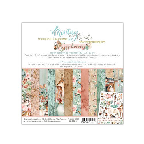 bloc-24-papiers-scrapbooking-15-x-15-collection-cozy-evening-mintay-by-karola