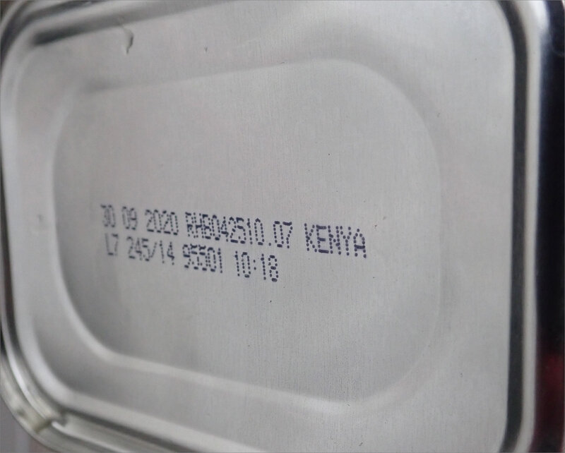 boite conserve haricots Kenya 1 042018