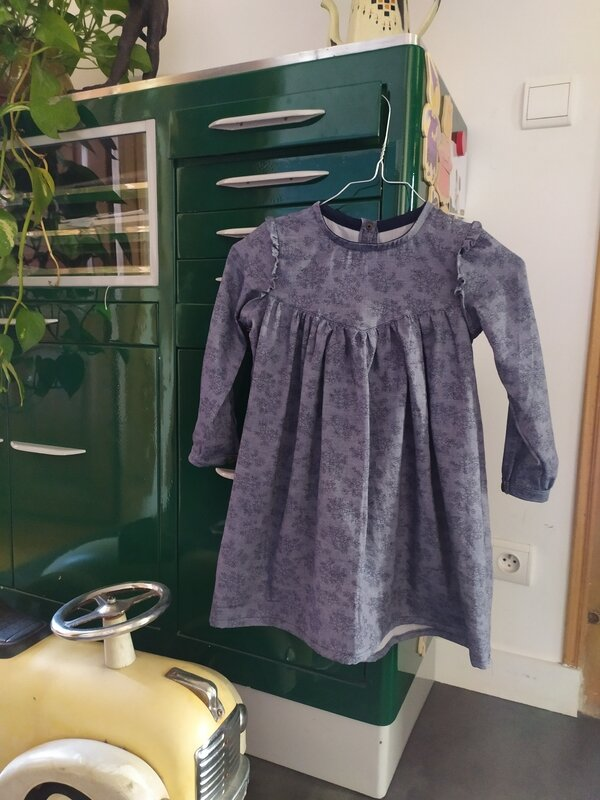 Robe Louise Ikatee version hiver (1)