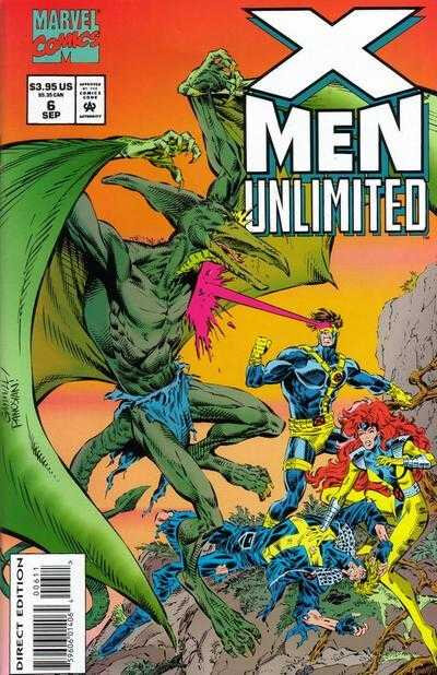 x-men unlimited 1993 06