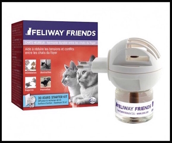 feliway friends diffuseur recharge ph romones pour. Black Bedroom Furniture Sets. Home Design Ideas