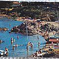 Saint Aygulf - plage du péprier datée 1974