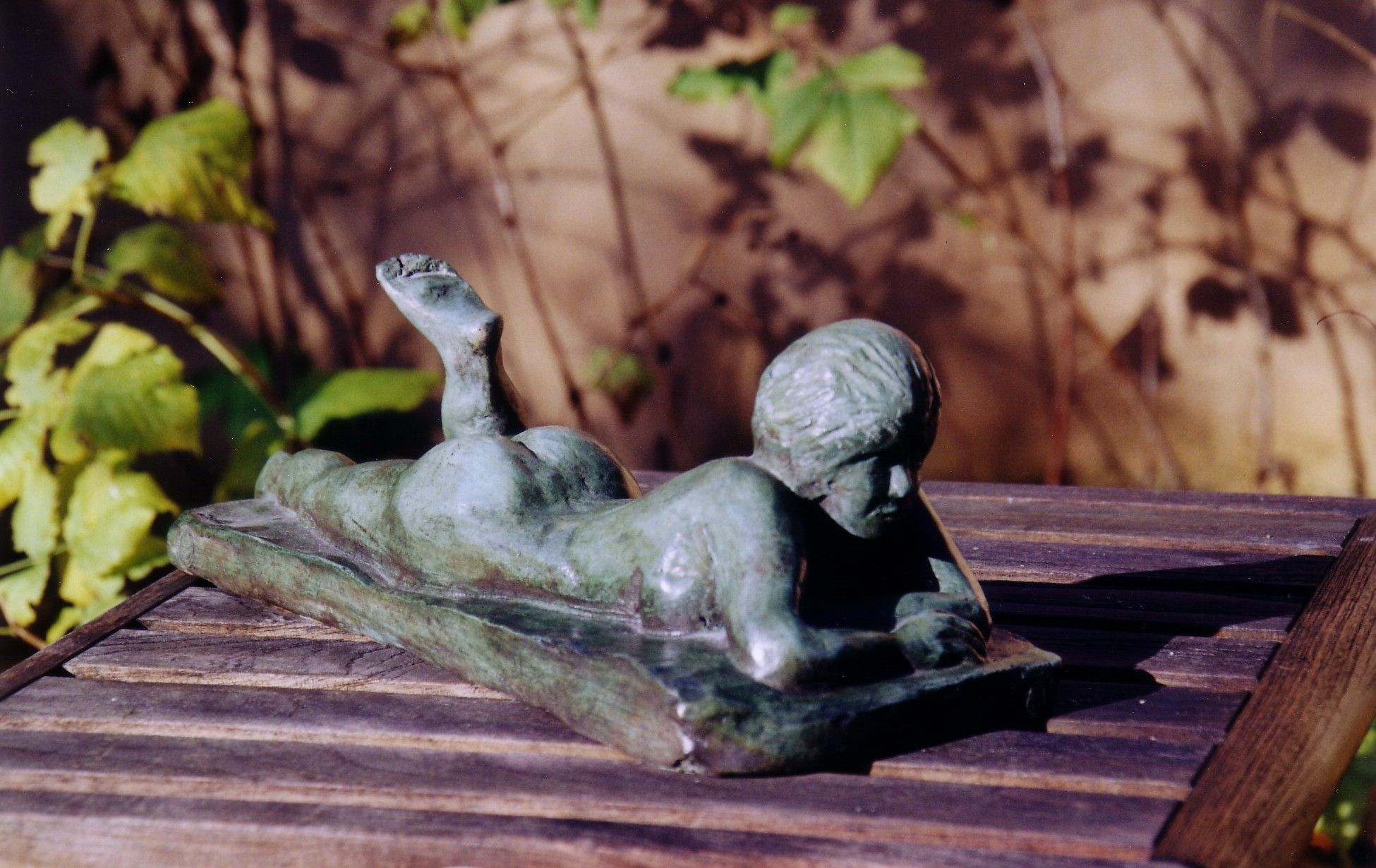 La lectrice (bronze)
