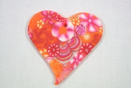 Millefiori Orange et Rose