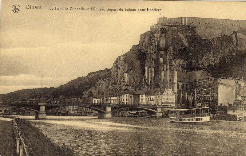 Dinant CPA Pont Forteresse