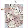 epingles marimerveille chocolatines N°6