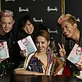 Jolin holds an album signing in london for muse in harrods