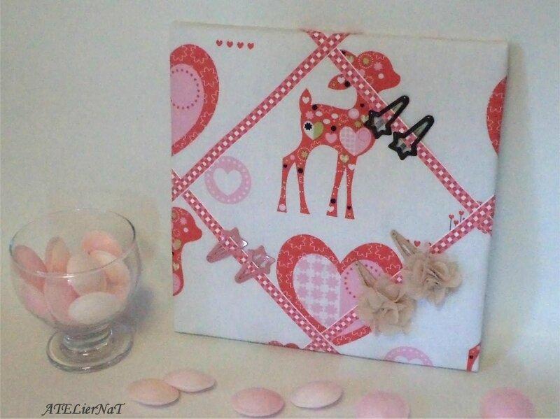 Cadre barrettes bambi2
