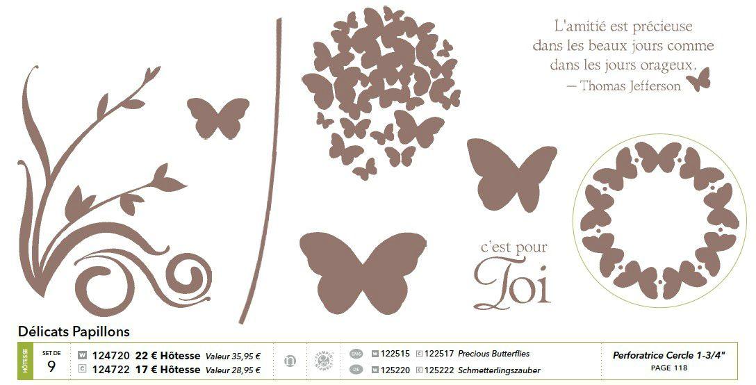 p012 délicats papillons