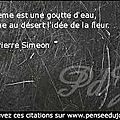 Citation Jean Pierre Siméon