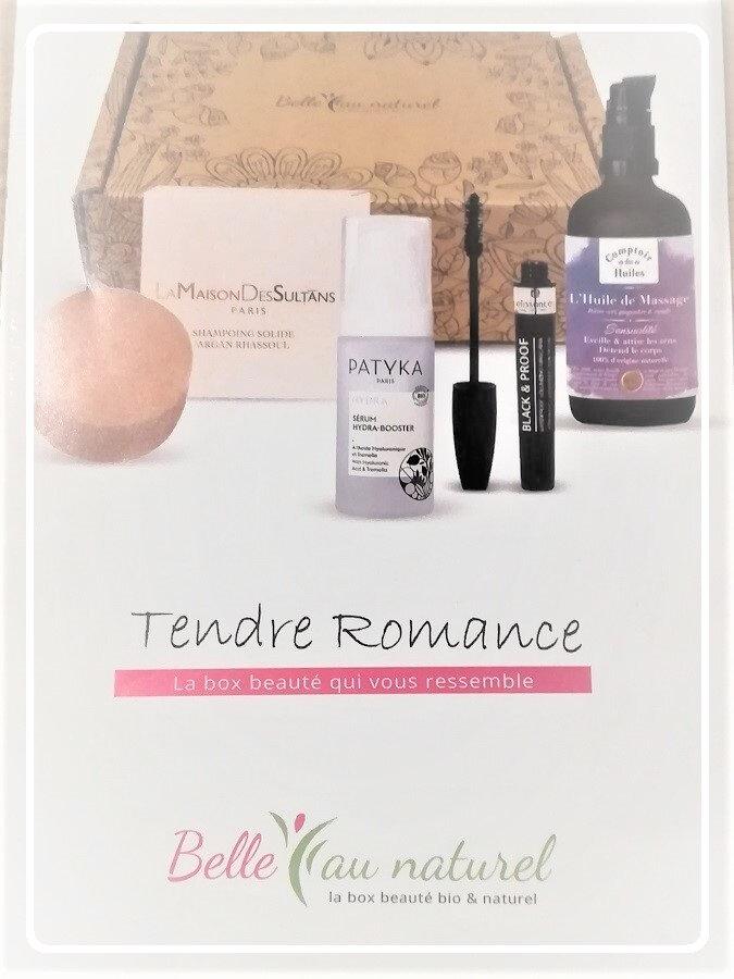 Tendre Romance, Box Belle Au Naturel Février 2021