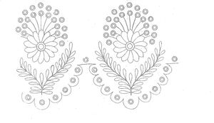 1825 Regency Needlework Pattern 5 May 1825