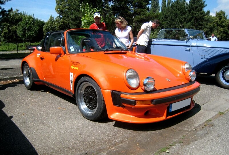 Porsche targa 01