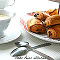 Petits pains au chocolat illusion