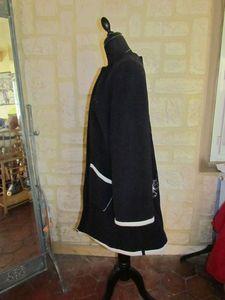 manteau noir et blanc arabesque (1)