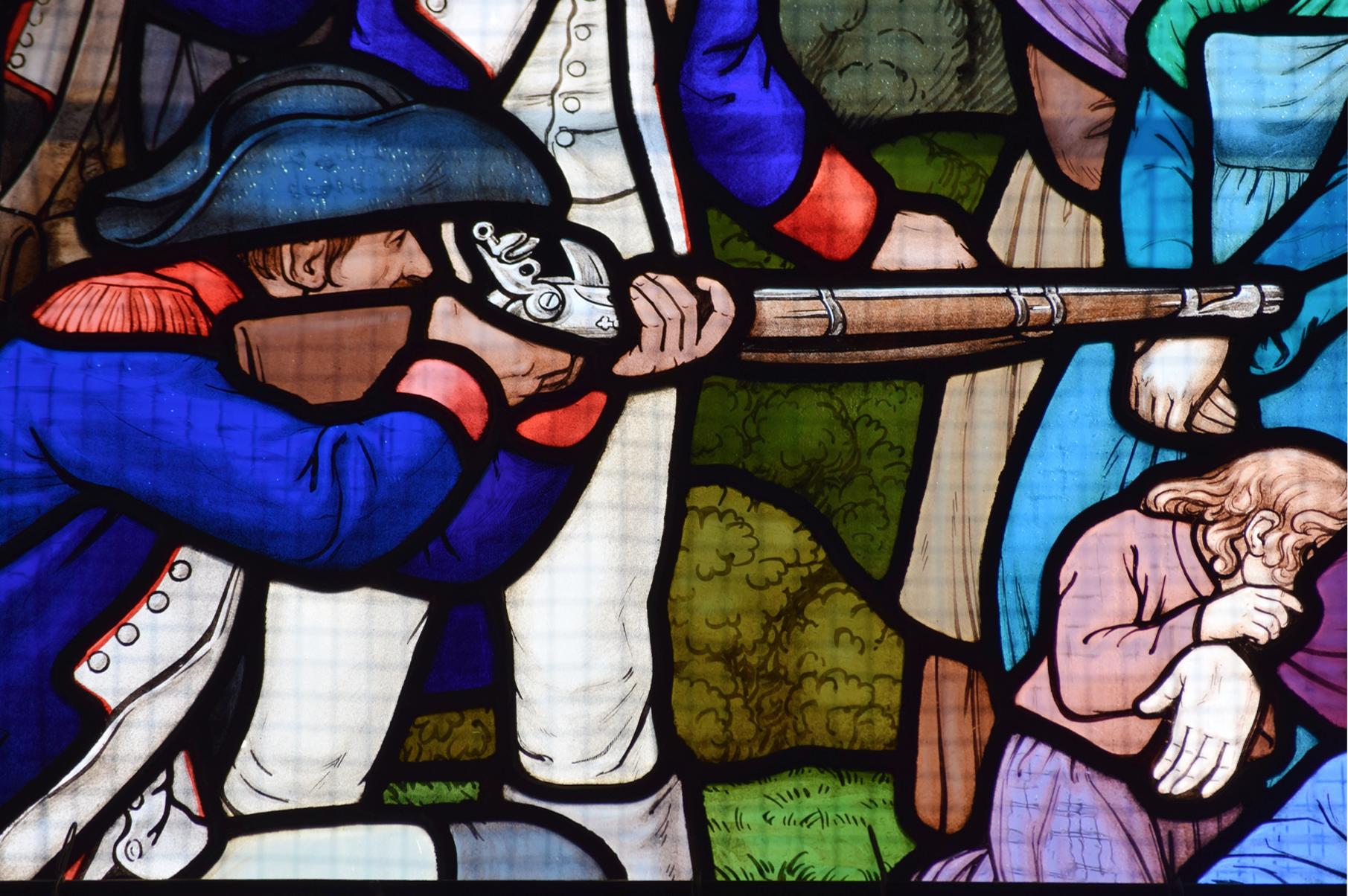 La Croix des Martyrs au Carrefour des Chats