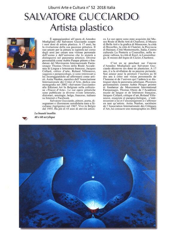 thumbnail_Liburni Arte e Cultura n° 52 2018 Italia Salvatore Gucciardo 1