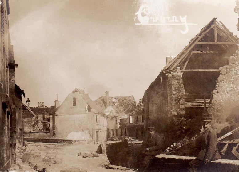 Crouy 1915, photo allemande (1)