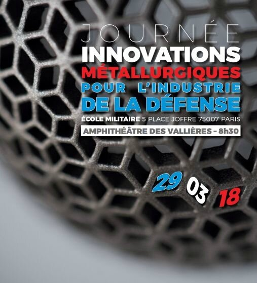 Journée CEM innovations en metallurgie dans l'industrie de la defense