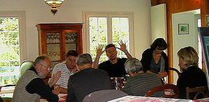 dégustation des Riesling + repas chez émile 1482