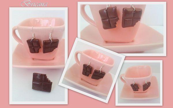 fimo_bague_et_boucle_d_oreille_chocolat_